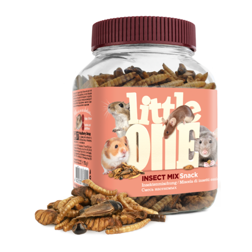 Little One Little One Insect mix. Snack for omnivores small mammal, 75 g