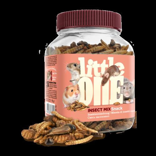 Little One Little One Insektenmischung, Snack für omnivore Säugetiere, 75 g