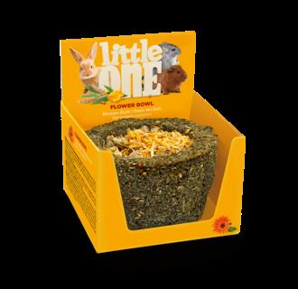Little One Blumenkorb. Spielzeugleckerli für alle kleinen Säugetiere, 120 g