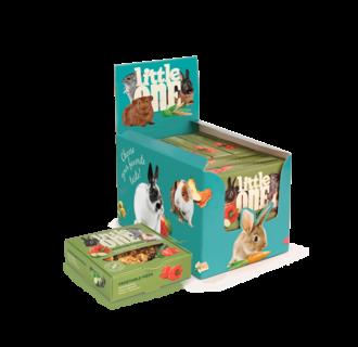 Little One Gemüsepizza. Spielzeugleckerli für alle kleinen Säugetiere, 6x55 g