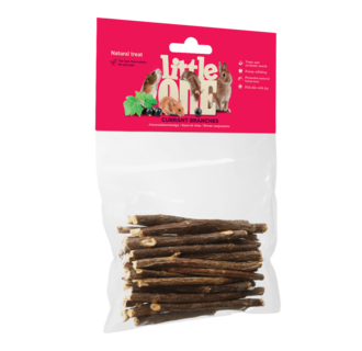 Little One Currant branches. Natural treat for all small mammals, 50 g