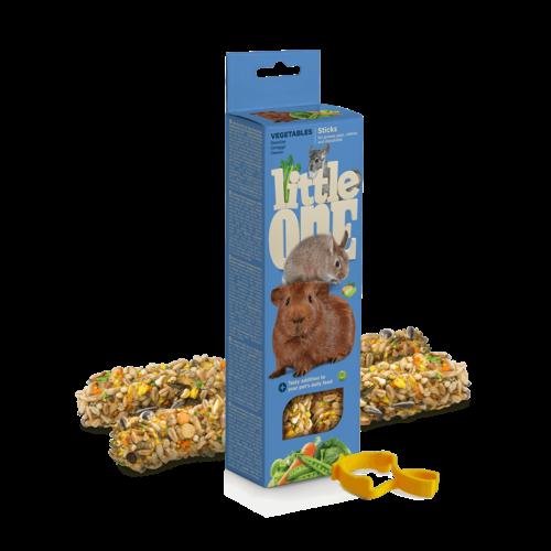 Little One Little One Bâtonnets pour cochons d'Inde, lapins et chinchillas aux légumes<br /> , 2x60 g