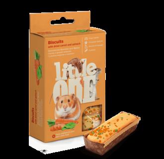Little One Biscuits à la carotte et aux épinards, 5x7 g