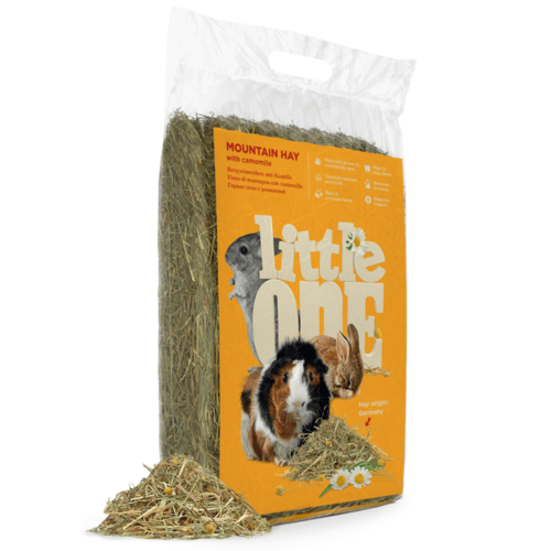 Little One Little One Mountain hay with camomile, not pressed, 400 g