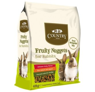Country value fruity rabbit nuggets 10kg