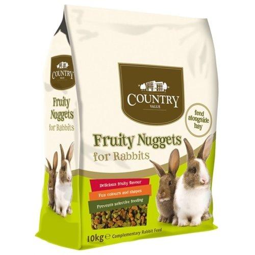 Burgess Pays valeur lapin fruité nugg 10kg