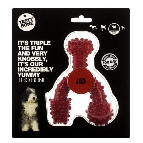 Rudolph Petsupplies Tasty Bone Trio Bone beef