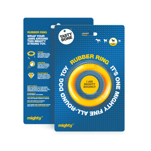 Rudolph Petsupplies Mighty Rubber Ring Small