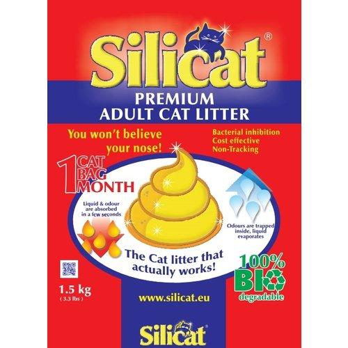 Silicat Silicat Litière adulte 1,5 kg