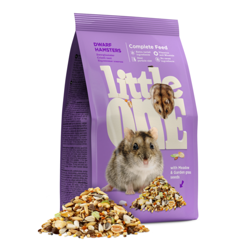 Little One Little One Aliment pour hamsters nains, 400 g