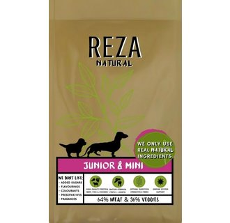 Reza Natural Pup & Junior 2,5 kg