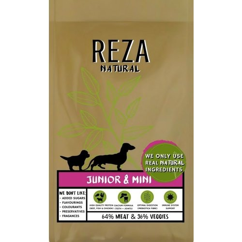 Reza Natural Reza Natural Pup & Junior 2,5 kg