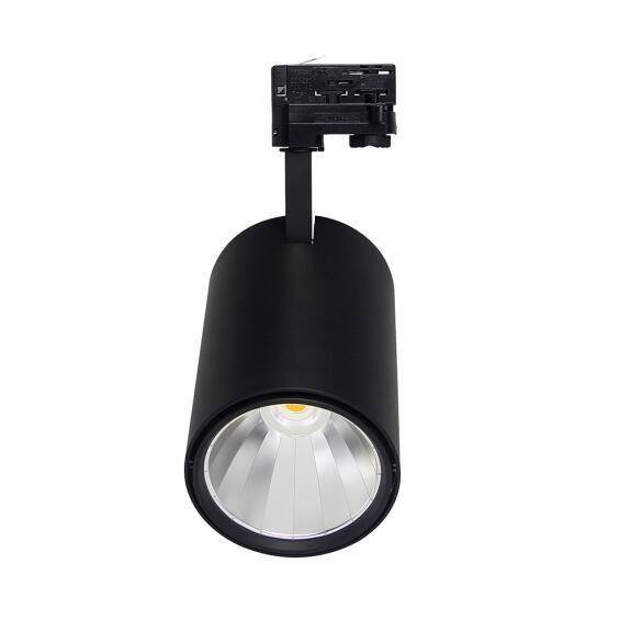 Tracklight LED F Serie 30W, 4000K, Zwart, Dimbaar