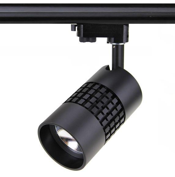 Tracklight LED D Serie 15W, 3000K, Zwart