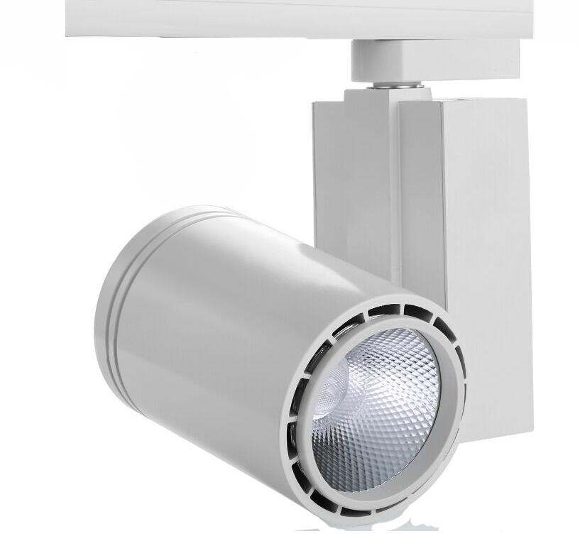 Tracklight LED C Serie 30W, 4000K, Grijs/Zilver