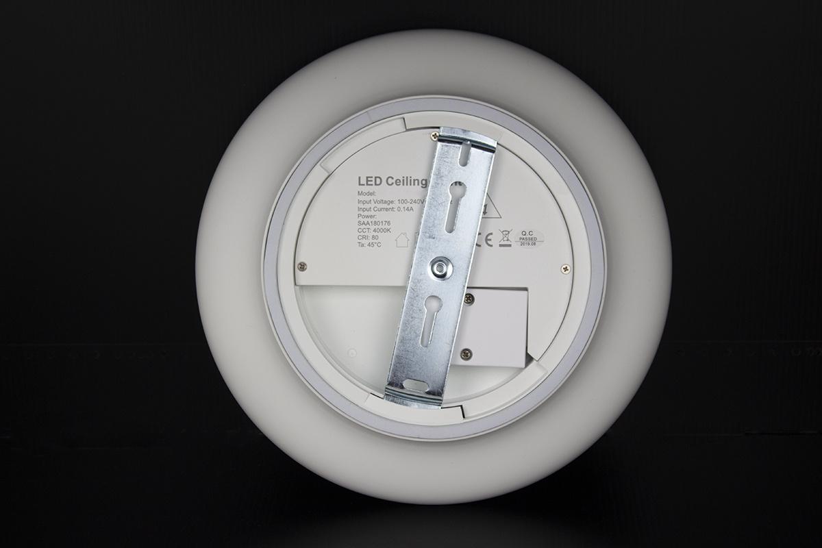 Plafondlamp LED Ø30cm, 18W, IP54, Emergency Light
