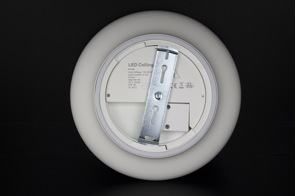 Plafondlamp LED Ø30cm, 18W, IP54, Sensor