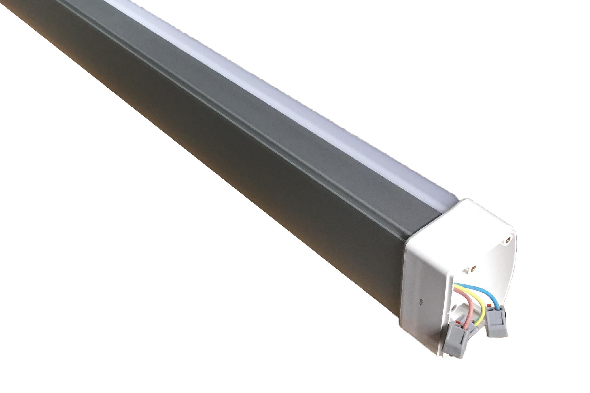 LED Tri-Proof 50W, IP65, 1500mm, Aluminium