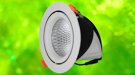 LED Gimbal Downlighters