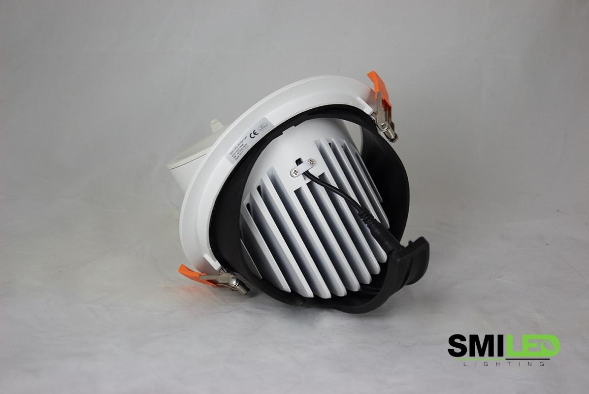 Downlighter LED COB Gimbal 20W, 3000K