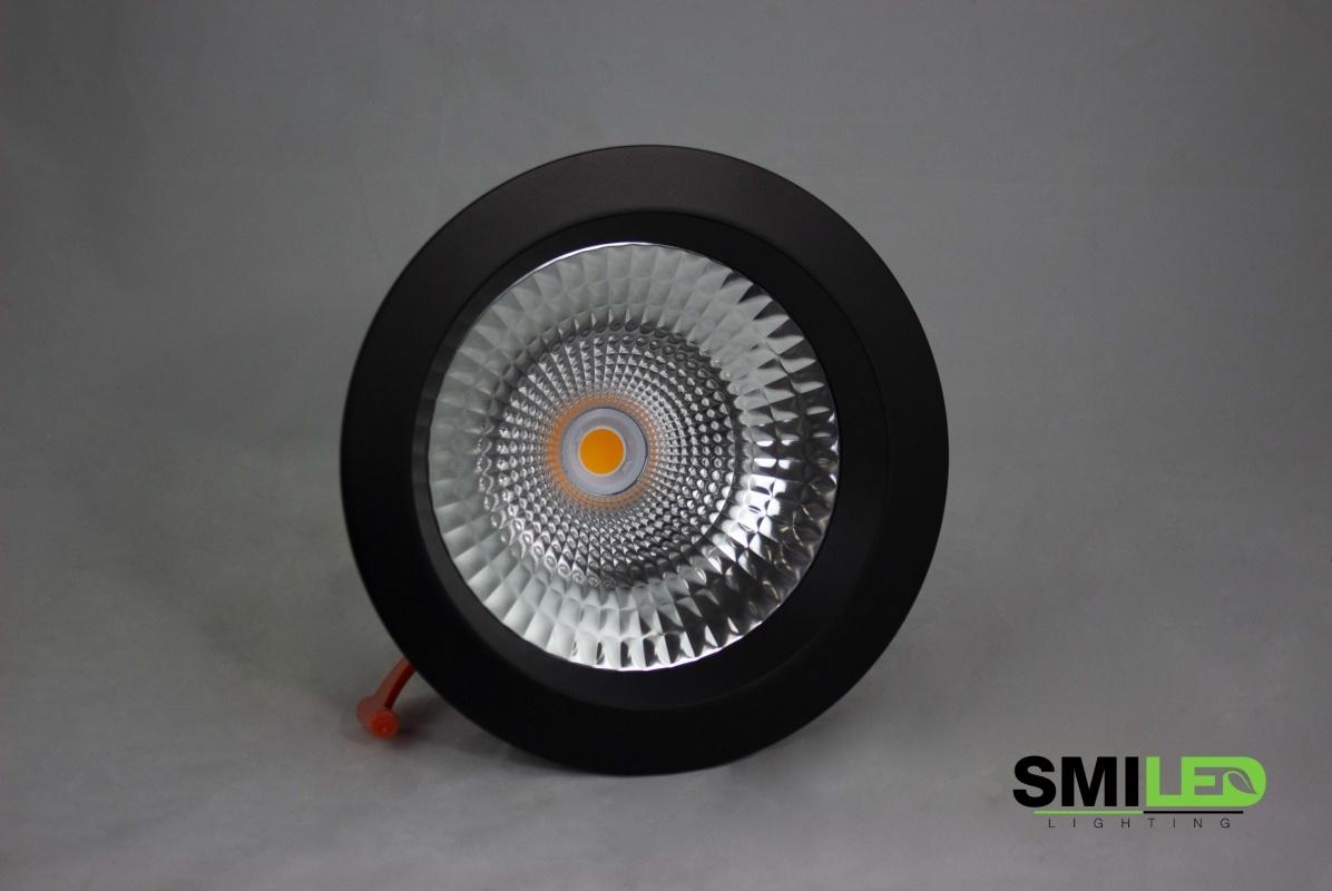 Rand Downlight LED Zwart