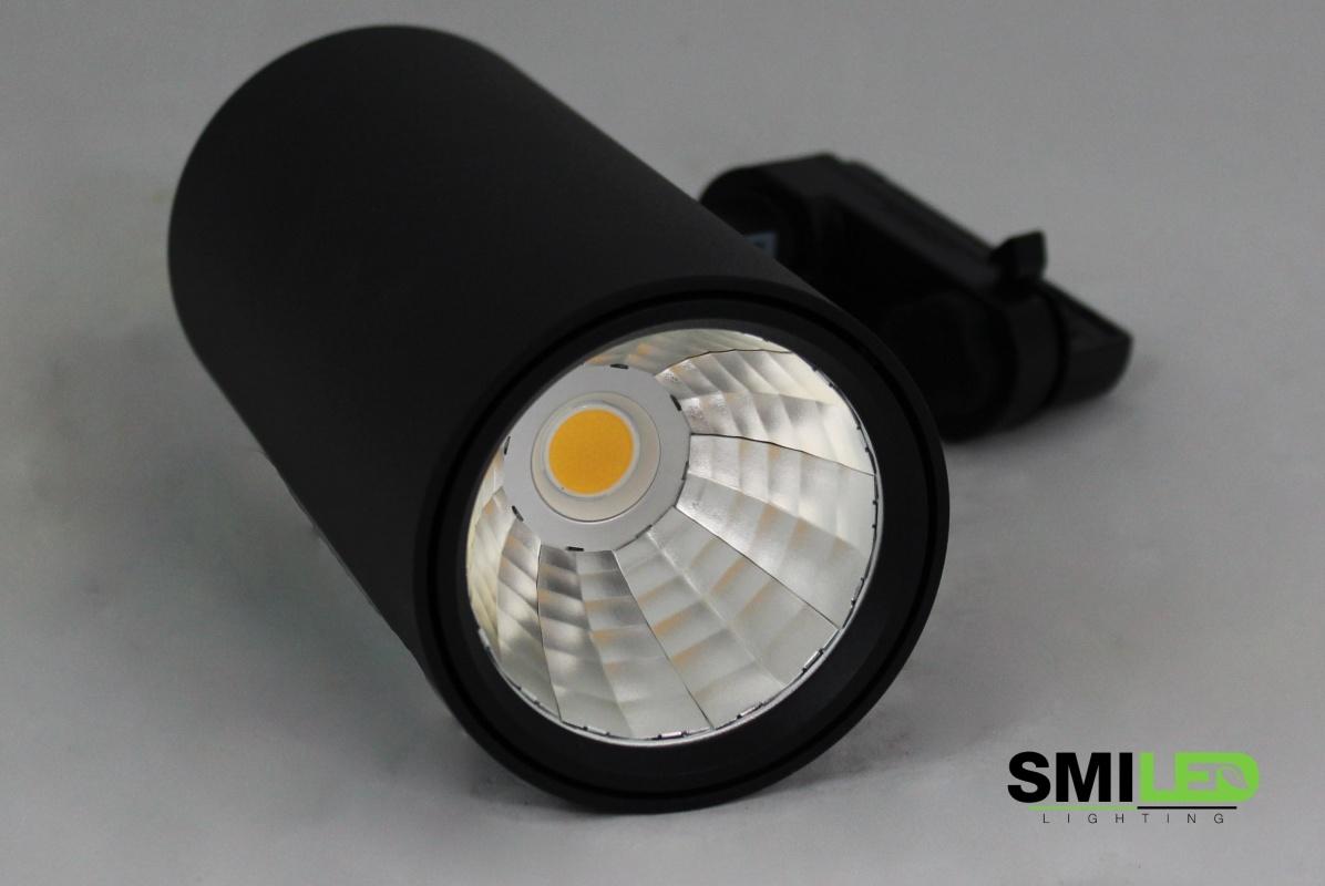 Tracklight LED F1 Serie 30W, 4000K, Zwart