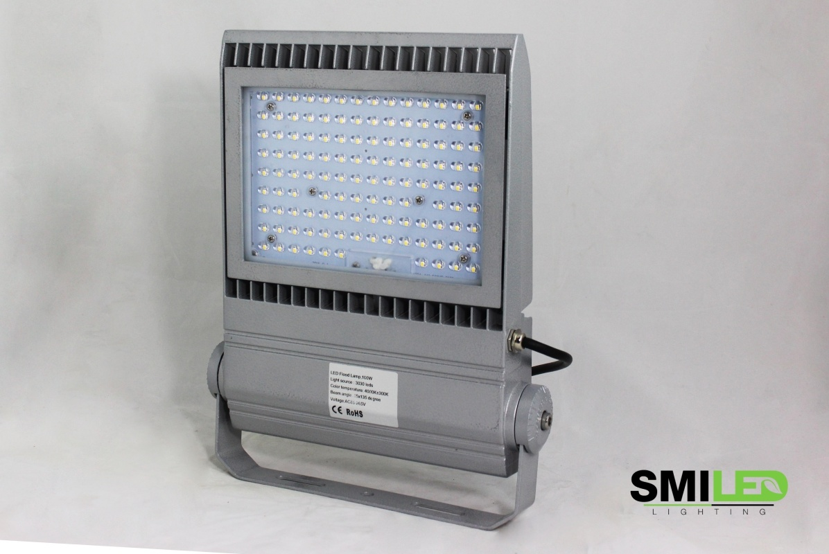Floodlight LED 100W, 110-240v, 4000K