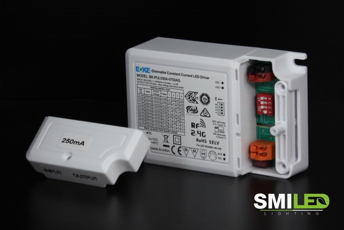 LED Driver Boke Dimbaar, 12.7W-33.7W