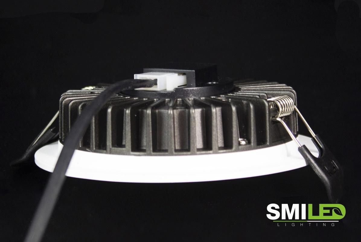 Downlighter LED 10W, 3000K, TUV