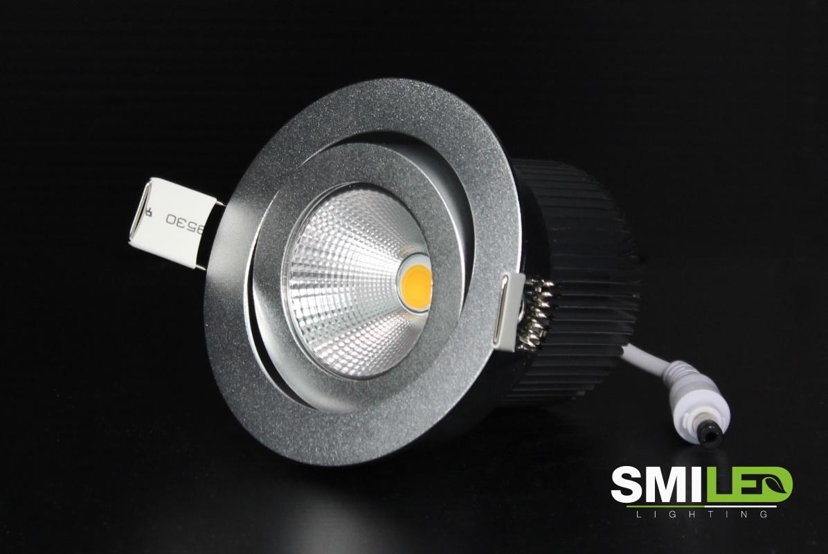 LED Inbouwspot 5W, 12V, 2700K
