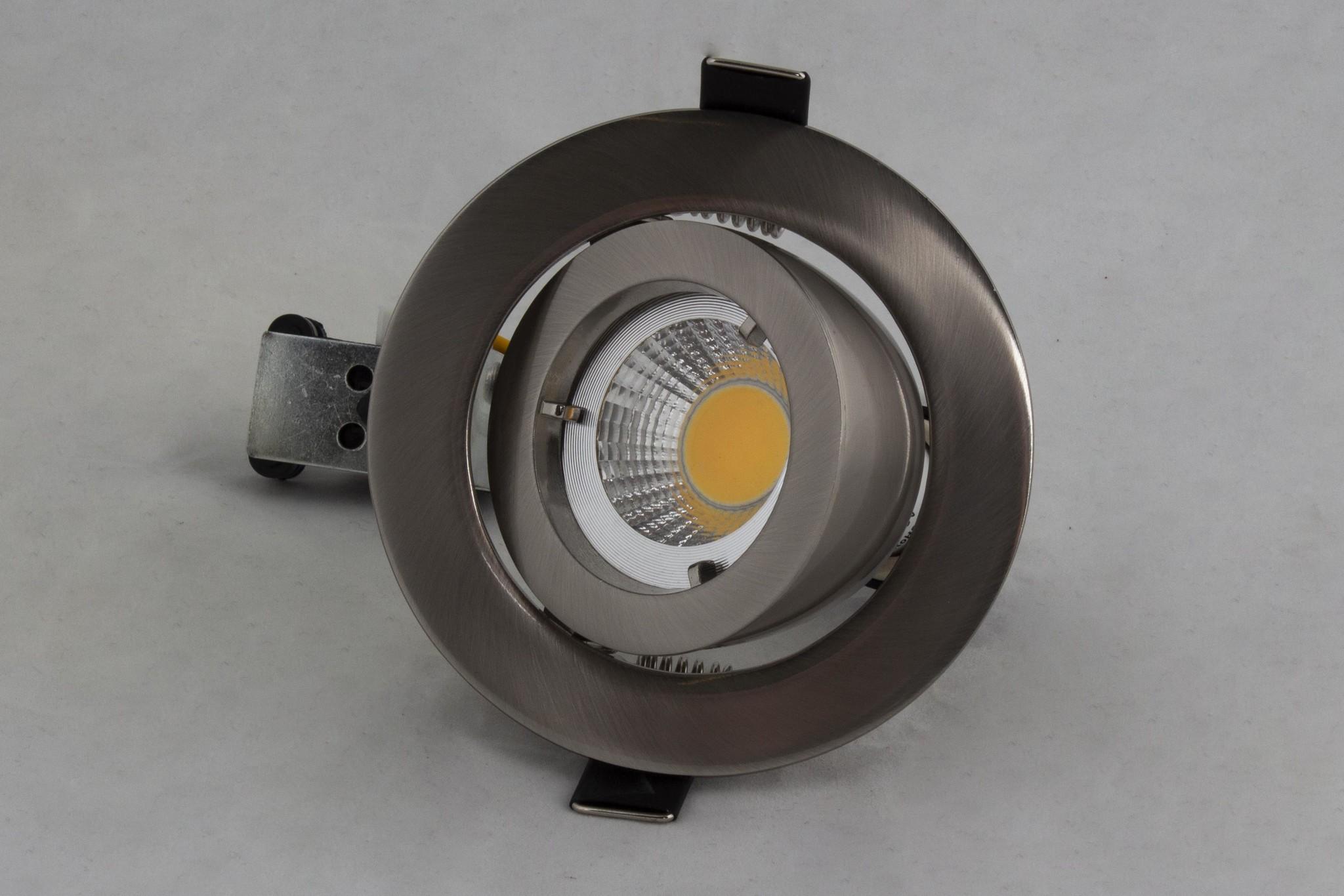 Inbouwarmatuur GU10 80mm