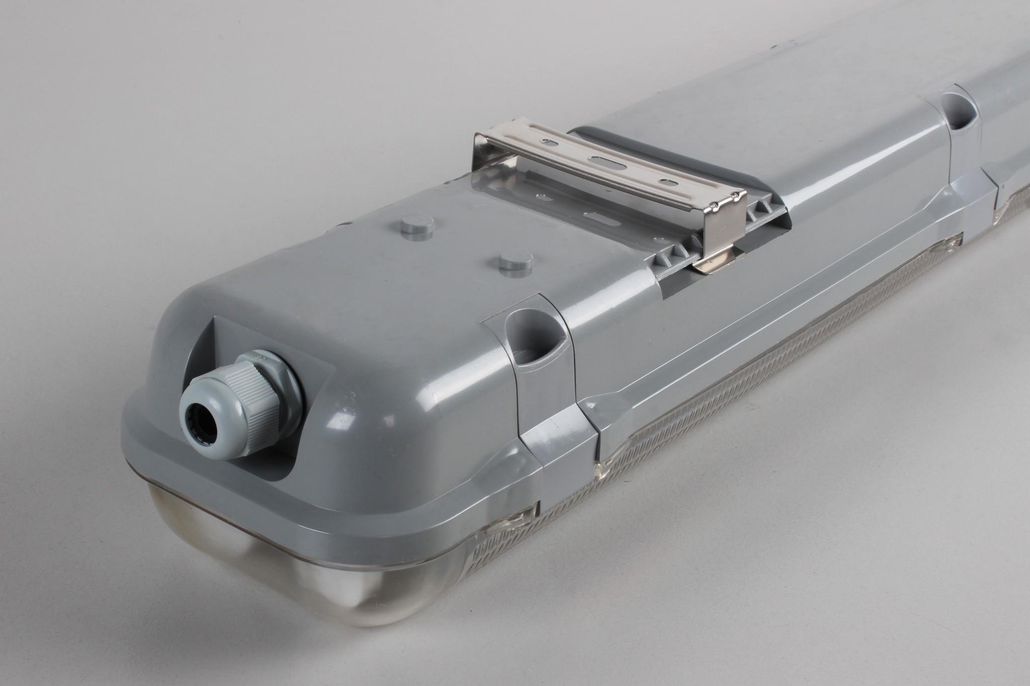 LED TL Armatuur IP65, geschikt voor 2 T8 LED Buizen 120cm