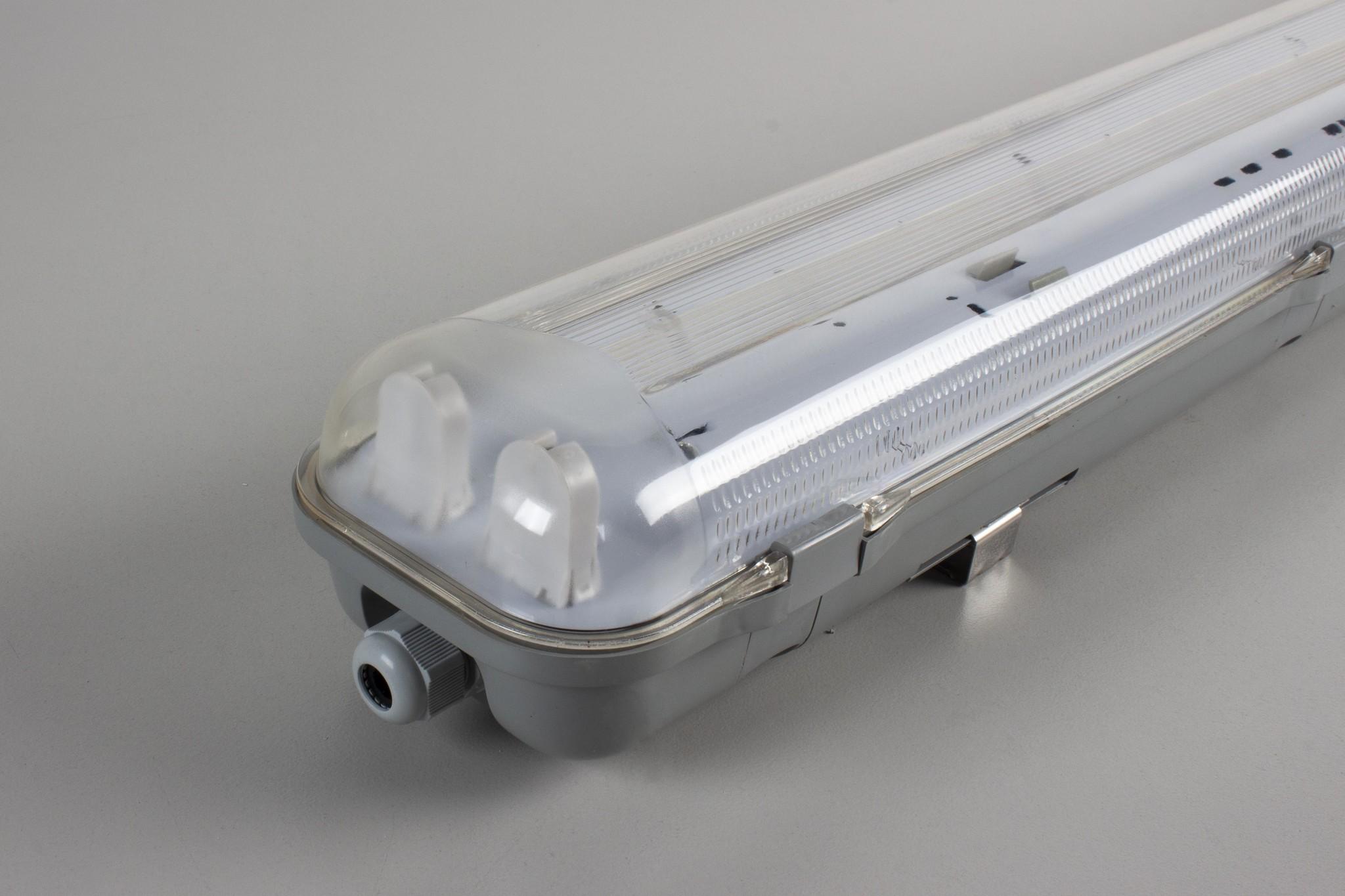 LED TL Armatuur IP65, geschikt voor 2 T8 LED Buizen 150cm