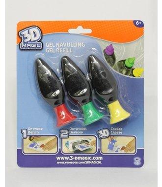 3D Magic Refill - 3 Stuks