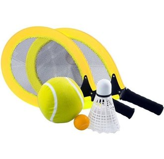 Angel Sports Racketset geel