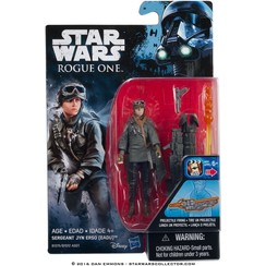 Star Wars: Rogue One Sergeant Jyn Erso (EADU) actiefiguur met projectiel