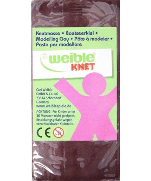 Weible Knet Weible Knet Fantasie Klei Blok Bruin - 250 Gram