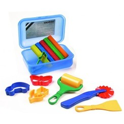 Weible Knet Klei Spel Glitter In Klickbox Maxi