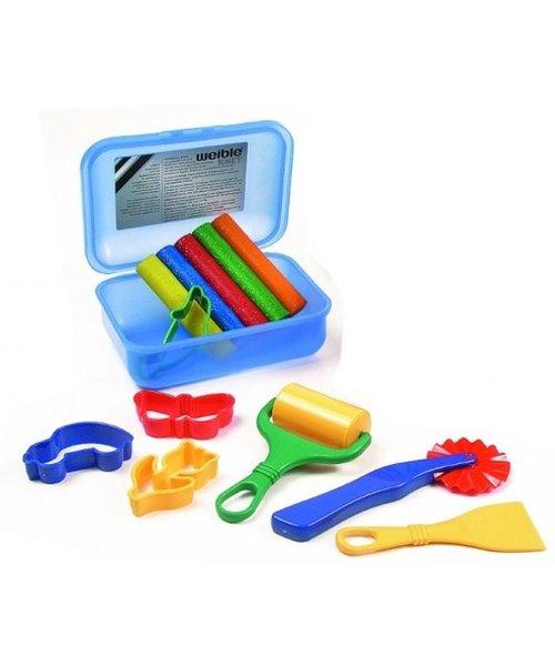 Weible Knet Weible Knet Klei Spel Glitter In Klickbox Maxi