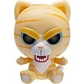 """Goliath Feisty Pets 4"""" Yellow Cat"""