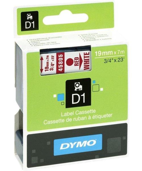 Overige merken DYMO S0720850 labelprinter-tape 19mm x 7m rood op wit