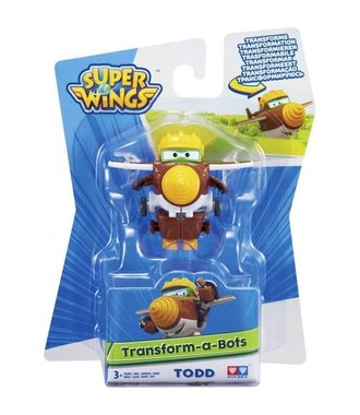 Super Wings Transform-a-Bots Todd
