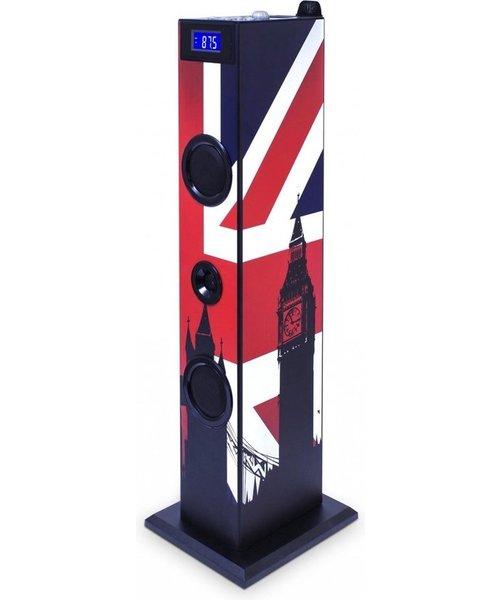 Bigben Bigben Interactive TW5 - Union Jack 20W Blauw, Rood, Wit luidspreker
