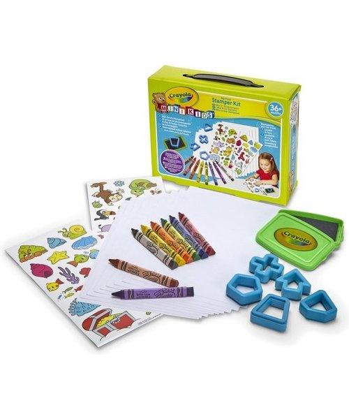 Crayola Crayola Mini Kids Stempel- en kleurset
