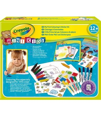 Crayola Mini Kids Kleur en sticker set
