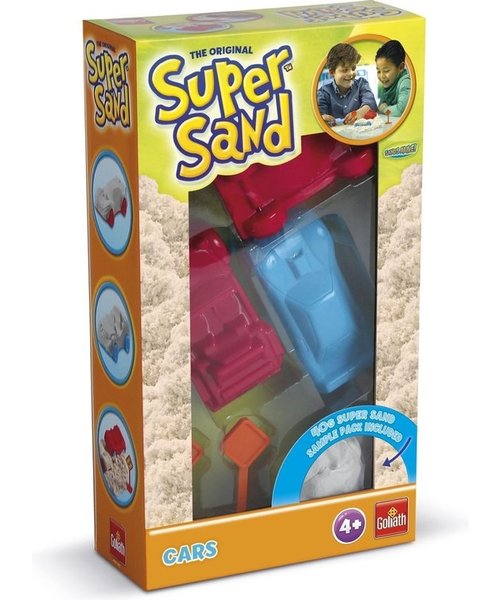 Goliath Goliath Super Sand - vormpjes Sands Alive auto