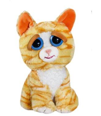 Goliath Feisty Pets Cat 19cm oranje