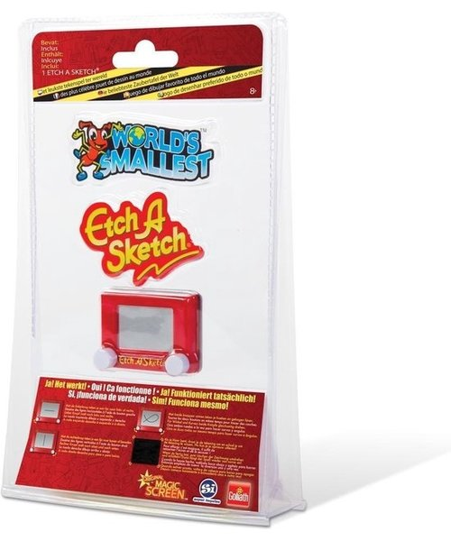 Goliath World's Smallest Etch A Sketch