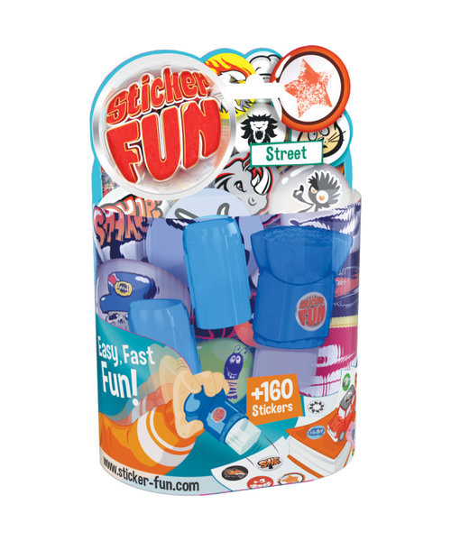Goliath Sticker Fun Street starter set incl. 160 stickers