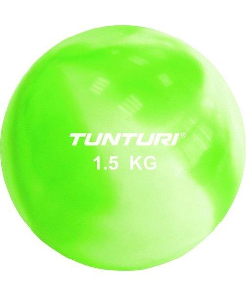 Tunturi Tunturi Yoga Toningbal - Yoga bal - Fitnessbal - 1,5 kg - Groen